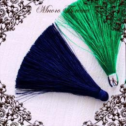 Кисть шелковая Синий темный 65х6мм
