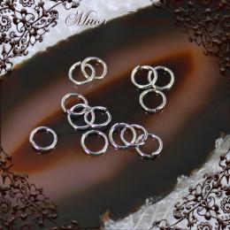 Колечки соединительные 10шт, родий, 5,6 мм*0.8мм
