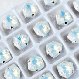 """Стразы в цапах Триллиант """"Белый опал"""" 12мм SWA crystalls"""