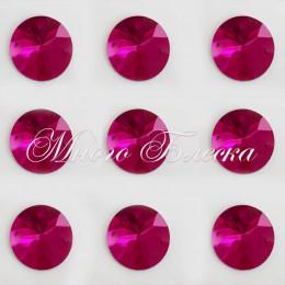 """Круг """"Фуксия"""" 30мм SWA crystalls"""
