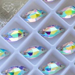 "Лепесток ""Кристалл АВ"" 9х20мм SWA crystalls"