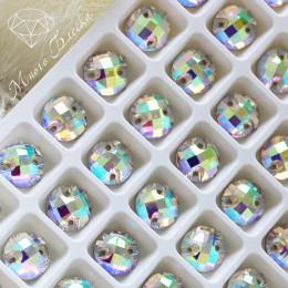 """Круг-шахматка """"Кристалл АВ"""" 10мм SWA crystalls"""