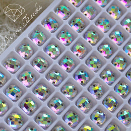 """Круг-шахматка """"Кристалл АВ"""" 08мм SWA crystalls"""