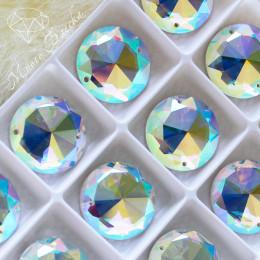 """Круг-премиум """"Кристалл АВ"""" 20мм SWA crystalls"""