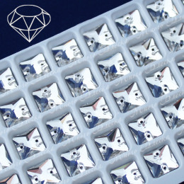 "Квадрат ""Кристалл"" 10 мм SWA crystalls"