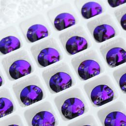 """Риволи """"Пурпл"""" 10-12мм SWA crystalls"""