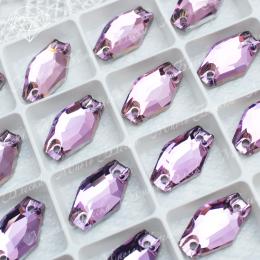 """Ромбовидные стразы """"Вайолет"""" 11*18мм SWA crystalls"""