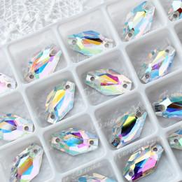 "Ромбовидные стразы ""АВ Кристалл"" 11*18мм SWA crystalls"