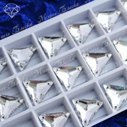 """Треугольник """"Кристалл"""" 16мм SWA crystalls"""