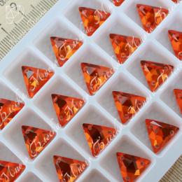"""Треугольник-мозаика """"Гиацинт"""" 12мм SWA crystalls"""