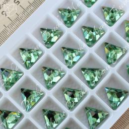 """Треугольник-мозаика """"Перидот"""" 12мм SWA crystalls"""