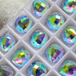 """Круг-бри """"Кристалл АВ"""" 16мм SWA crystalls"""
