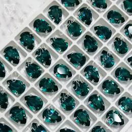 "Стразы в цапах Капля ""Блю циркон"" 7*10, 10*14, 13*18мм SGA crystalls"