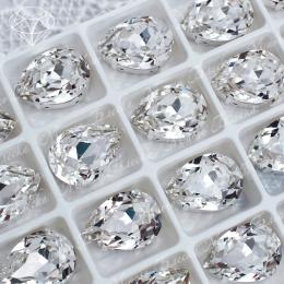 "Стразы в цапах Капля ""Кристалл"" 7-25 мм SGA crystalls"