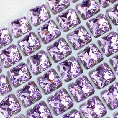 """Стразы в цапах Квадриллион """"Вайолет"""" 08 мм SGA crystalls"""