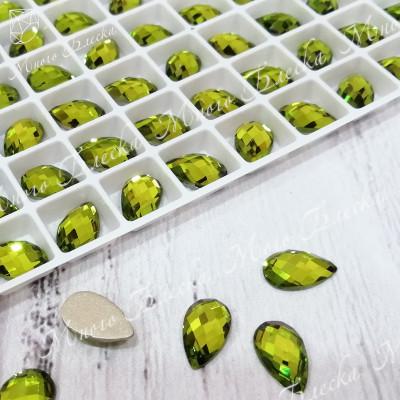 """Капля NHF 06*10мм """"Хризолит"""" SGA crystalls"""