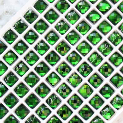 "Квадрат NHF 06мм ""Изумруд"" SGA crystalls"