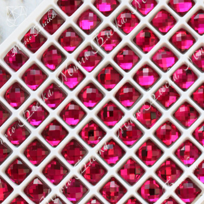 "Квадрат NHF 06мм ""Рубин"" SGA crystalls"