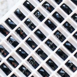 """Прямоугольник NHF 05*10мм """"Джет блэк"""" SGA crystalls"""