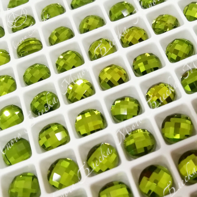 "Круг NHF 6мм ""Хризолит"" SGA crystalls"