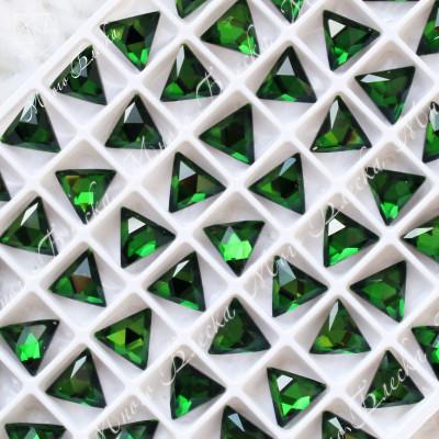 "Треугольник NHF 08мм ""Изумруд"" SGA crystalls"