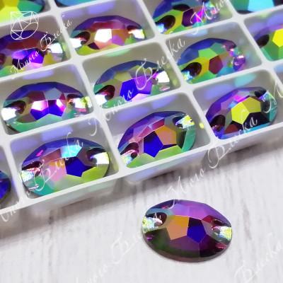 "Овал ""Аметист-АВ""10*14мм SGA crystalls"