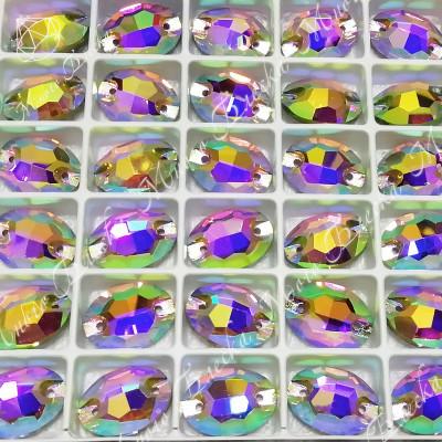 """Овал """"Роза-АВ"""" 10*14мм SGA crystalls"""