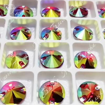 """Риволи """"Сиам лайт-АВ"""" 10, 12мм SGA crystalls"""