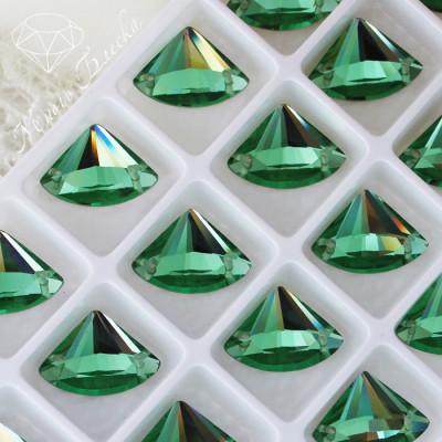 """Веер """"Перидот"""" 13х18мм SGA crystalls"""