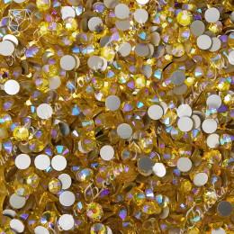 """""""Цитрин АВ"""" 3.8-6.2мм стразы SGA crystalls без клея"""