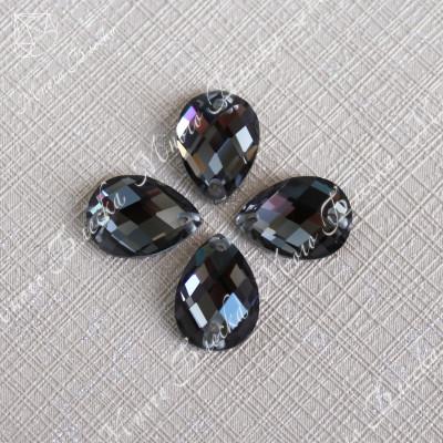 """Капля R 10*14мм """"Блэк даймонд"""" SGA crystalls"""