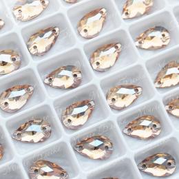 """Капля """"Золотые тени"""" 07*12мм SGA crystalls"""