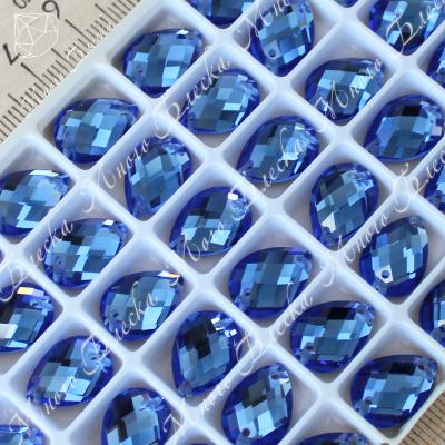 "Капля R 10*14мм ""Сапфир"" SGA crystalls"