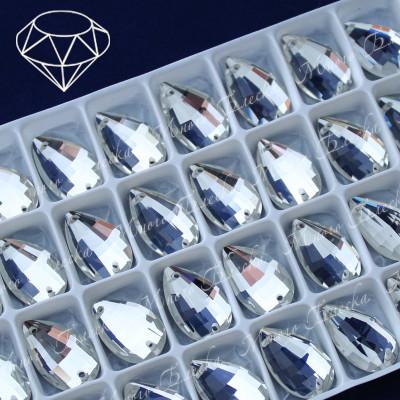 "Капля-бри ""Кристалл"" 11*18 мм  SWA crystalls"
