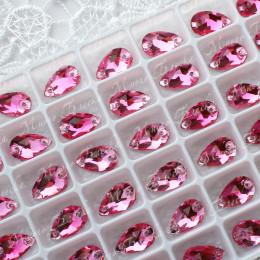 "Капля ""Лайт пинк"" 07*12 мм SGA crystalls"