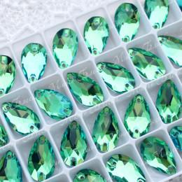 """Капля """"Перидот"""" 11*18мм SWA crystalls"""