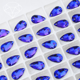 "Капля ""Пурпл"" 07*12 мм SWA crystalls"