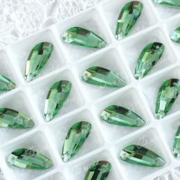 """Крылышки """"Перидот"""" 19*8мм SWA crystalls"""