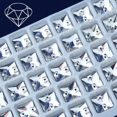 "Квадрат ""Кристалл"" 10-12мм SWA crystalls"