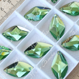 "Лист ""Перидот"" 14х26мм SWA crystalls"