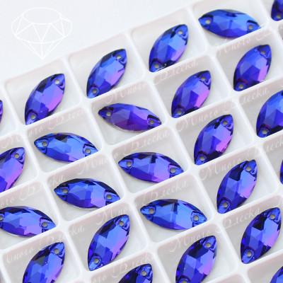 """Лодочка """"Пурпл"""" 7*15 мм SWA crystalls"""