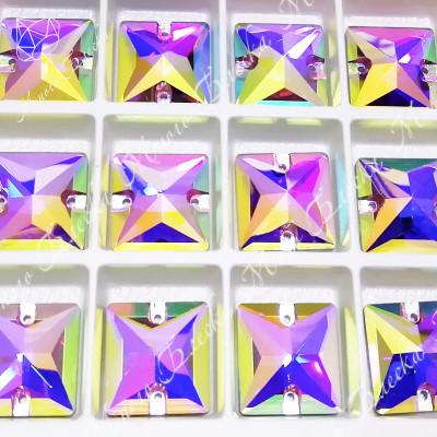 """Квадрат """"Роза-АВ"""" 16мм SGA crystalls"""