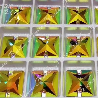 "Квадрат ""Топаз-АВ"" 16мм SGA crystalls"