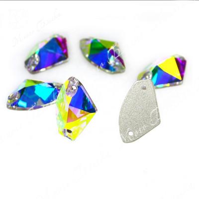 "Ракушка ""АВ"" 9*14 и 12*19 мм SGA crystalls"