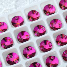 """Риволи """"Фуксия"""" 10-14мм SWA crystalls"""