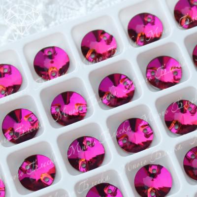 """Риволи """"Фуксия"""" 10, 12, 14мм SGA crystalls"""