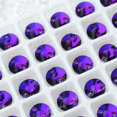 "Риволи ""Пурпл"" 10, 12, 14мм SGA crystalls"