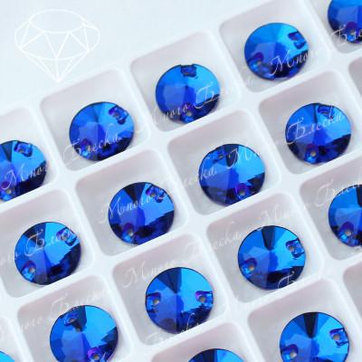 "Риволи ""Капри блю"" 10, 12, 14мм SGA crystalls"