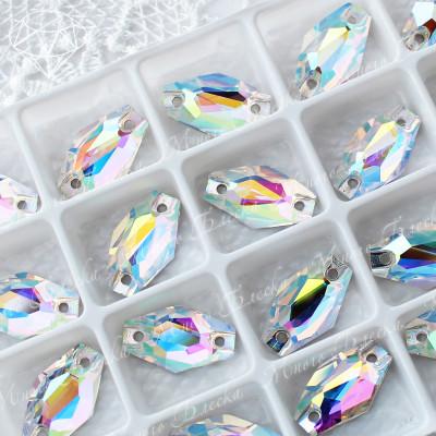 """Ромбовидные стразы """"АВ Кристалл"""" 11*18мм SGA crystalls"""