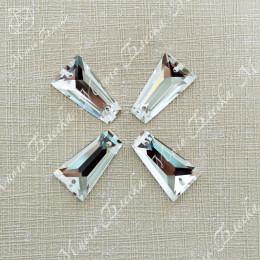 "Трапеция ""Кристалл"" 10,8х19мм SWA crystalls"